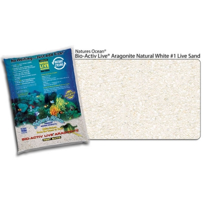 Bio-Active Live Aragonite Natural 0,5-1,7 Live Sand Inhalt 9,07 Kg
