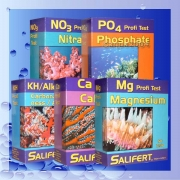 Salifert Bundle NO3+PO4 + KH+CA+MG Wassertests Testset