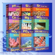 Salifert Bundle NO3+PO4+ KH+CA+MG+NO2+ PH+SI+SR Testset