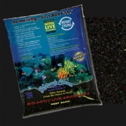 Bio-Active Live Aragonite Black Beach 0,5-1,7 Live Sand Inhalt 9,07 Kg